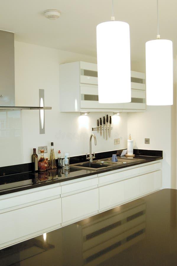 kitchen modern στοκ εικόνα