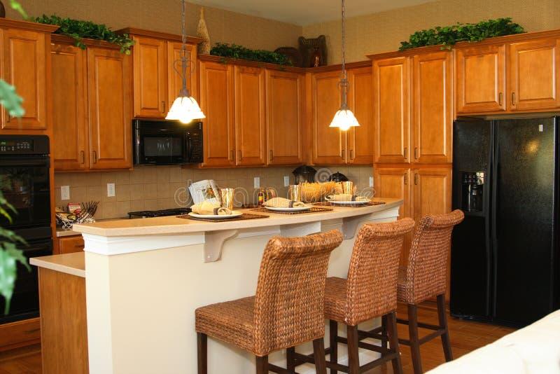 kitchen modern στοκ εικόνα με δικαίωμα ελεύθερης χρήσης