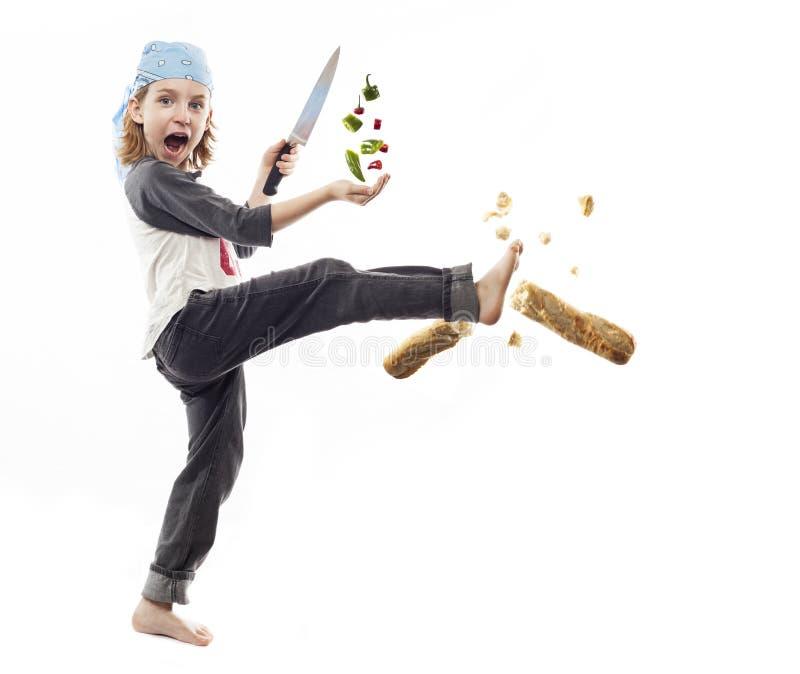Kitchen Ninja stock photos