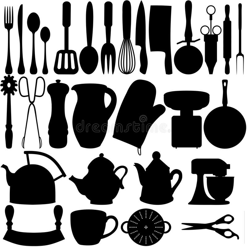 Download Kitchen Objects Royalty Free Stock Image - Image: 24090256
