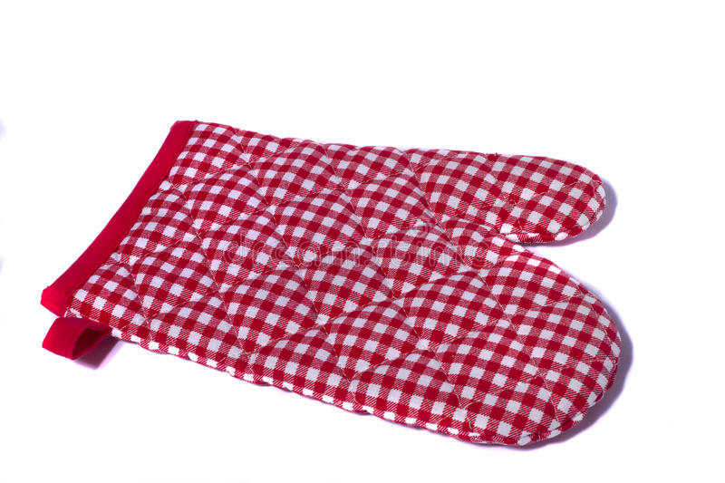 Kitchen protection glove royalty free stock image
