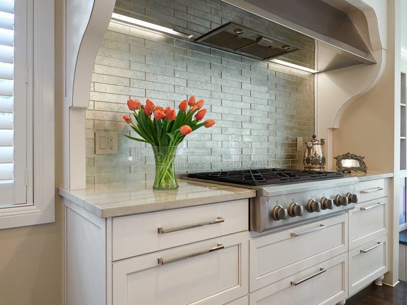 Kitchen range stock photos