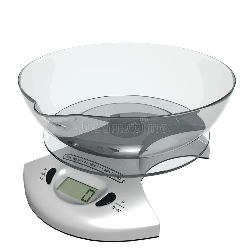 Download Kitchen Scale Stock Image - Image: 16571691