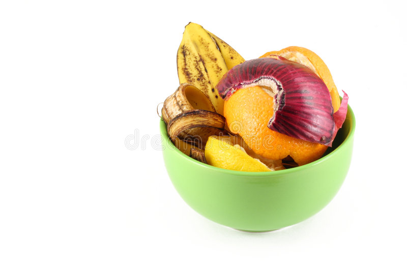 Kitchen scraps stock image