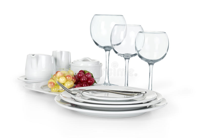 Download Kitchen Set Of Cups Plates And Jars Stock Image - Image of plate  sc 1 st  Dreamstime.com & Kitchen Set Of Cups Plates And Jars Stock Image - Image of plate ...