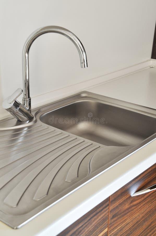 Kitchen sink royalty free stock photo