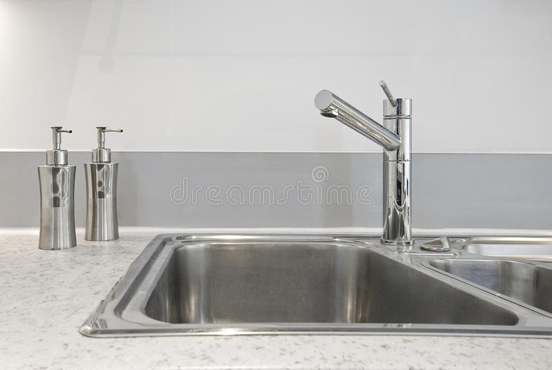 Kitchen Sink Deatil Stock Images