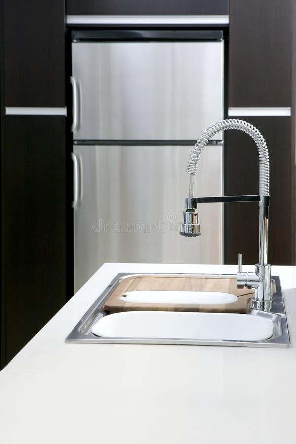 Download Kitchen Spring Stove Modern Silver Fridge Stock Photo - Image: 17284492