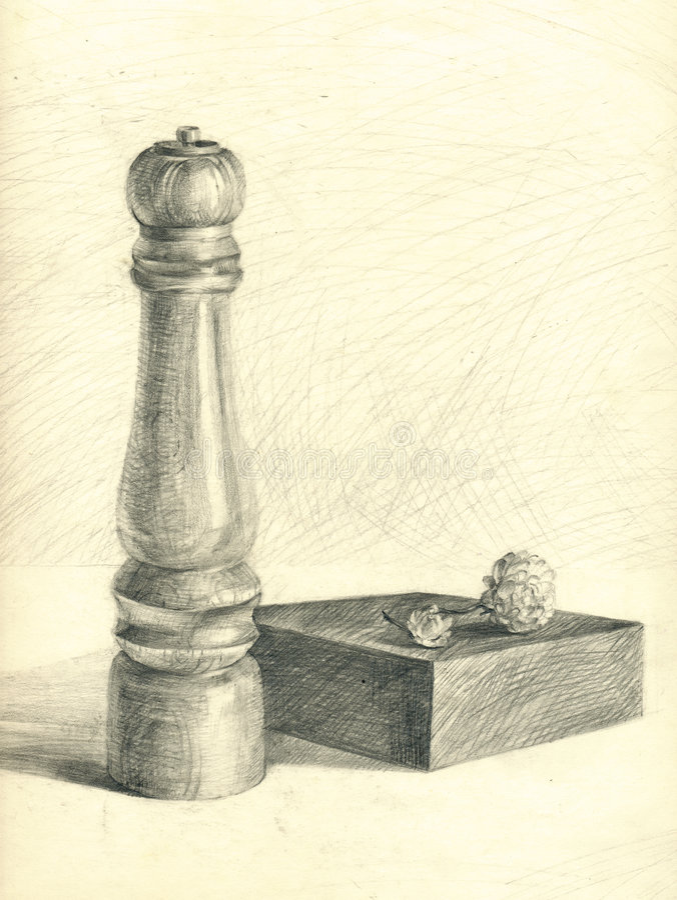 Kitchen - still life royalty free illustration