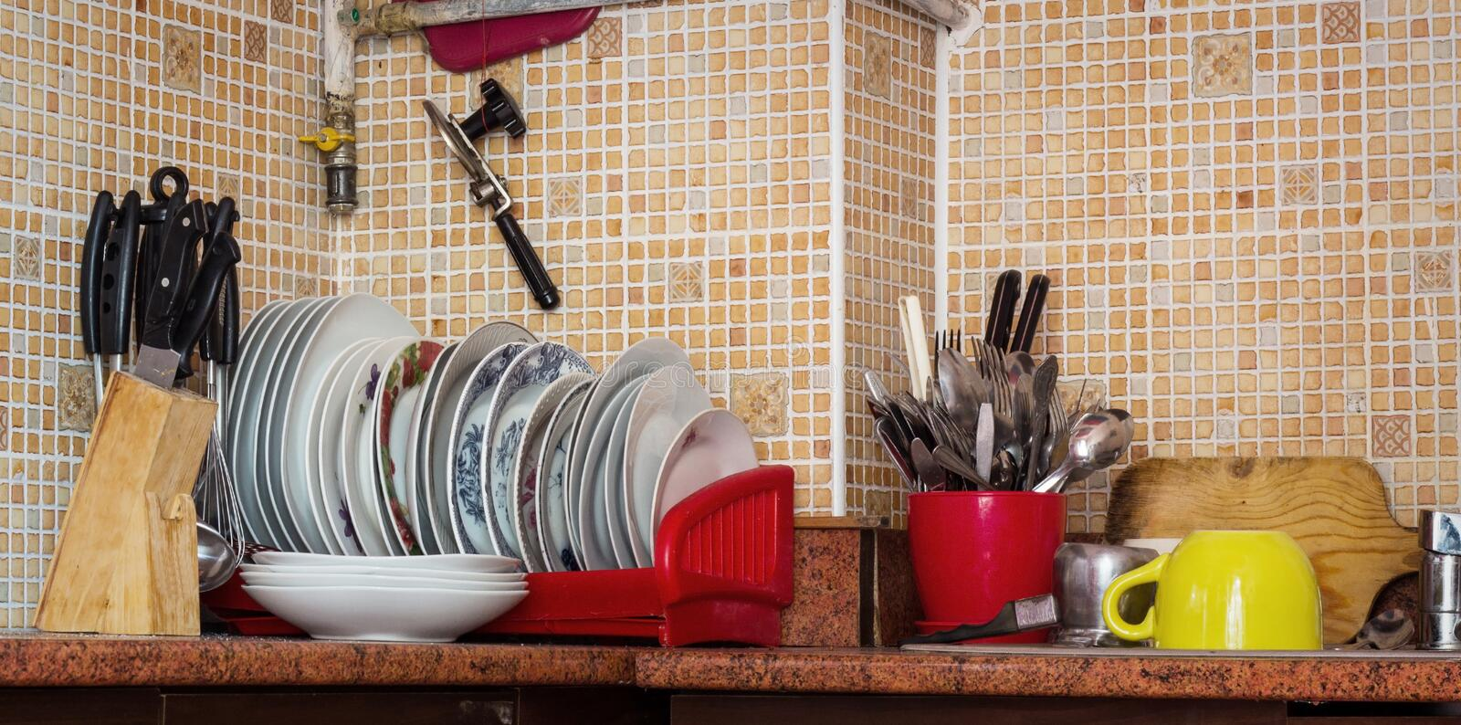 Download Kitchen stock photo. Image of tool, bowl, crockery, traditional - 34444036