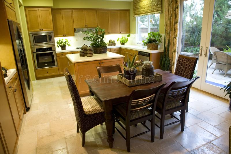 Kitchen and table 2435 royalty free stock photos