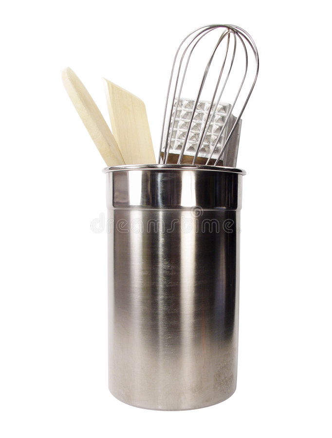 Download Kitchen Utensils stock photo. Image of stainless, utensils - 6672