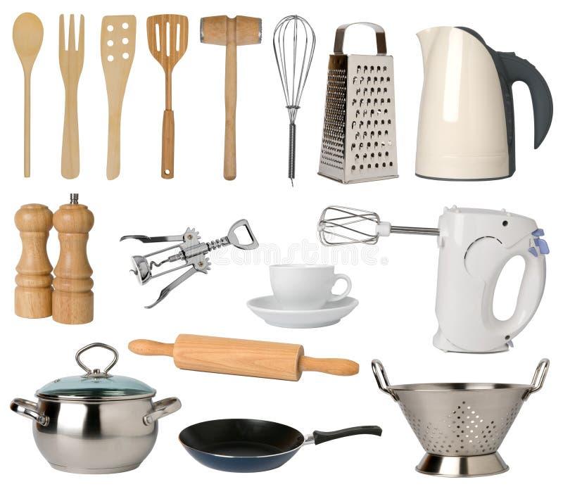 Download Kitchen utensils stock image. Image of metal, skimmer - 12837767