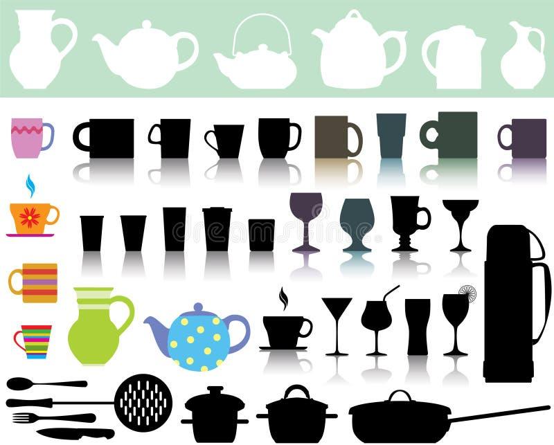 Download Kitchen utensils stock vector. Illustration of illustration - 20052633