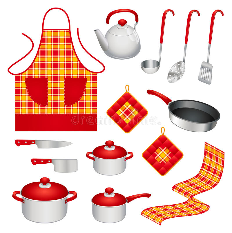 Free Kitchen Utensils Royalty Free Stock Photos - 22542688