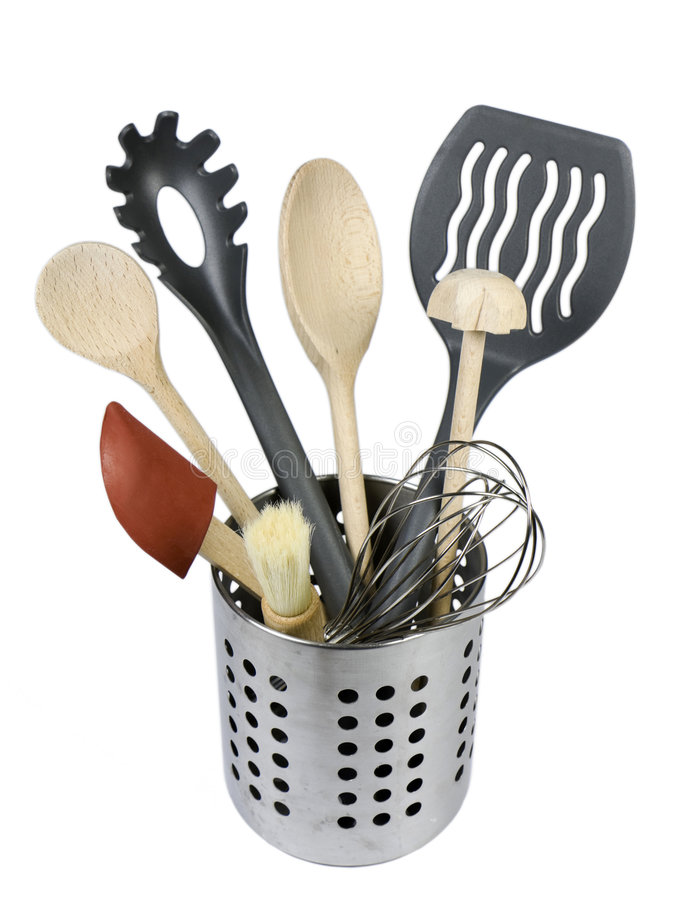 Download Kitchen utensils stock photo. Image of implement, home - 7696124