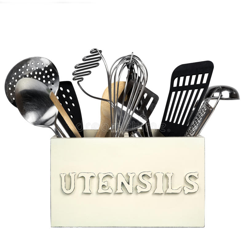 Download Kitchen Utensils Isolated Stock Photo - Image: 27214790