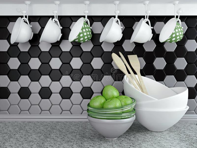 Kitchen utensils. royalty free illustration