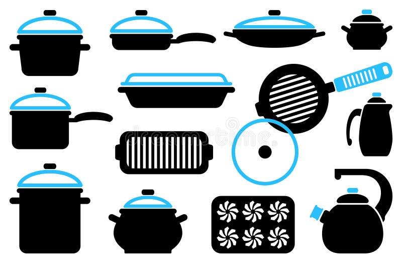 Download Kitchen ware stock vector. Image of image, equipment - 29027353