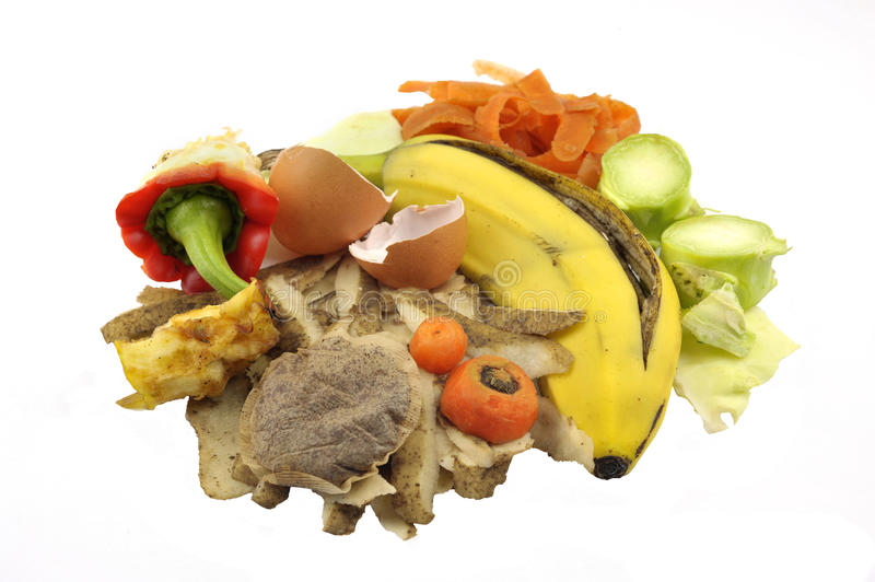 Food Service Waste Stock Photo