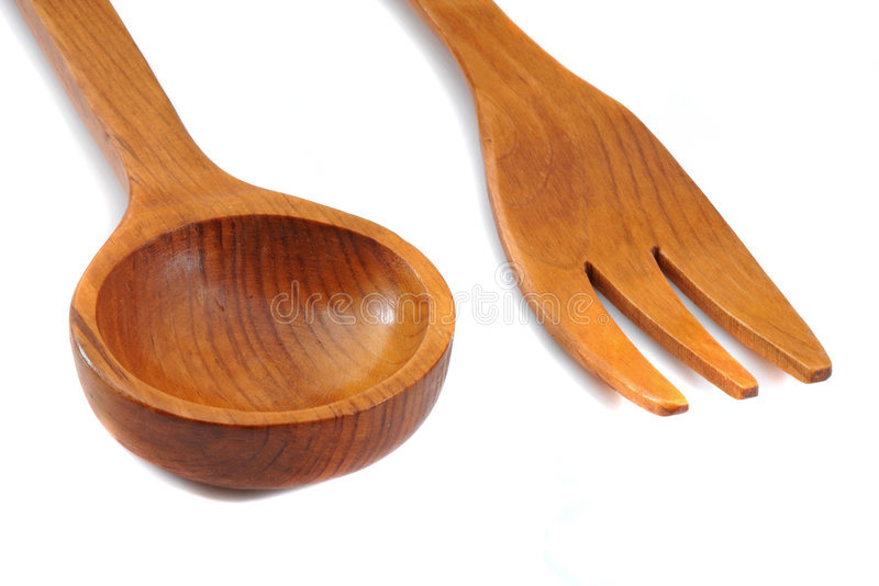 Download Kitchen wooden cutlery stock photo. Image of cutlery, households - 7383694