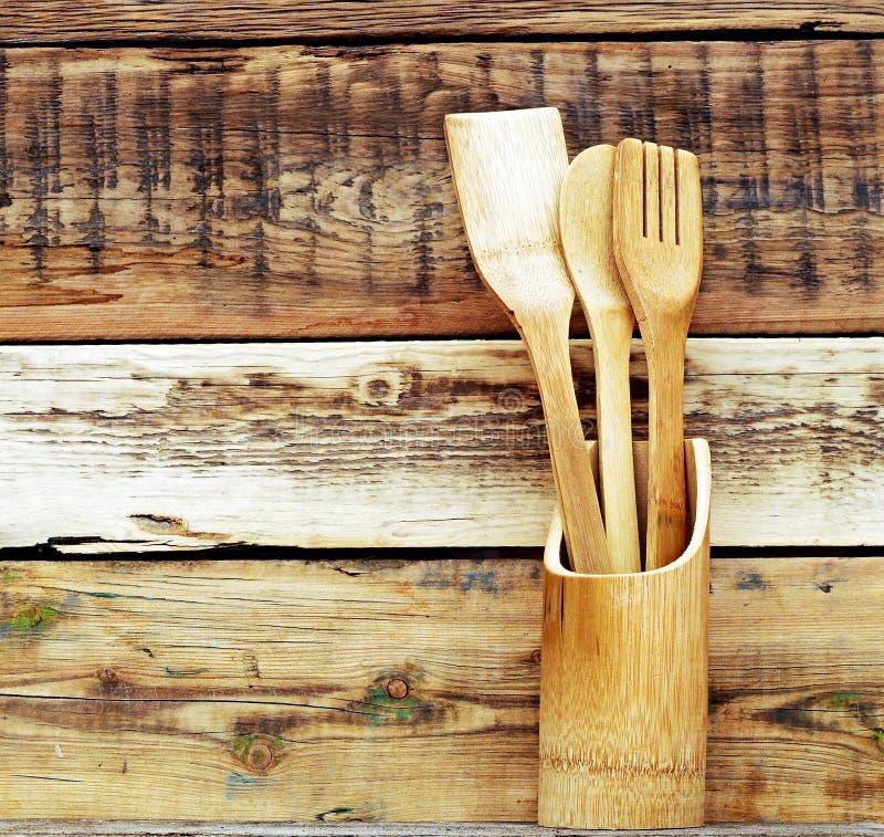 Kitchen Wooden Utensils Stock Image Image Of Spatula
