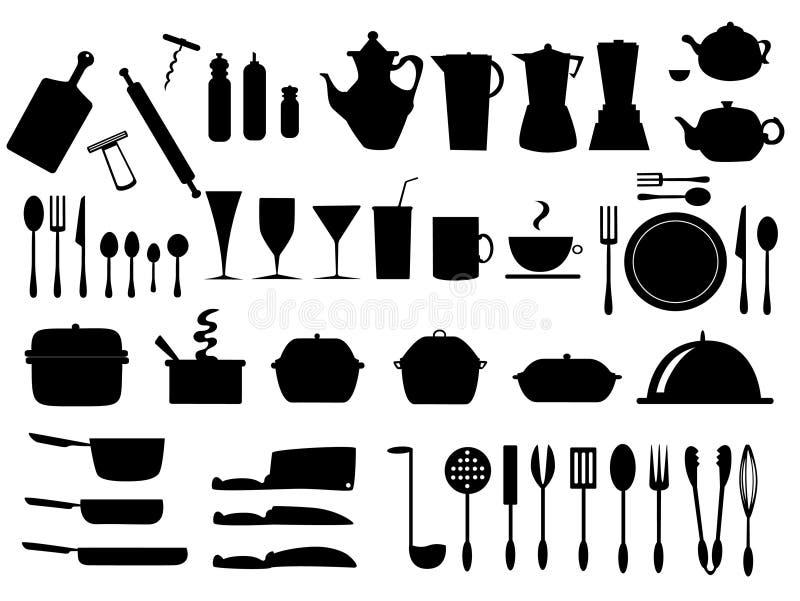 Kitchen2 ilustração do vetor
