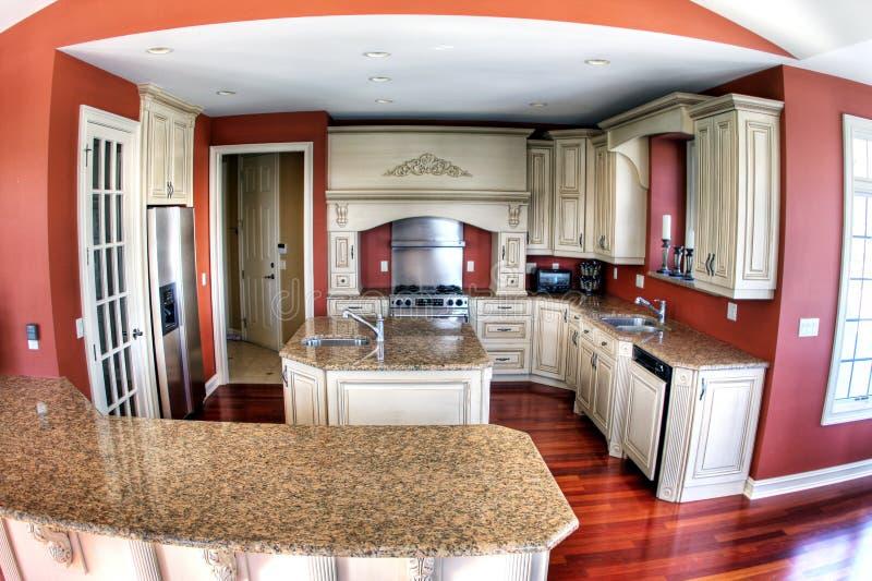 kitchen3 πολυτέλεια στοκ εικόνα με δικαίωμα ελεύθερης χρήσης