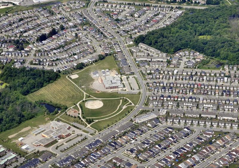 Kitchener-Waterloo suburb royalty free stock images