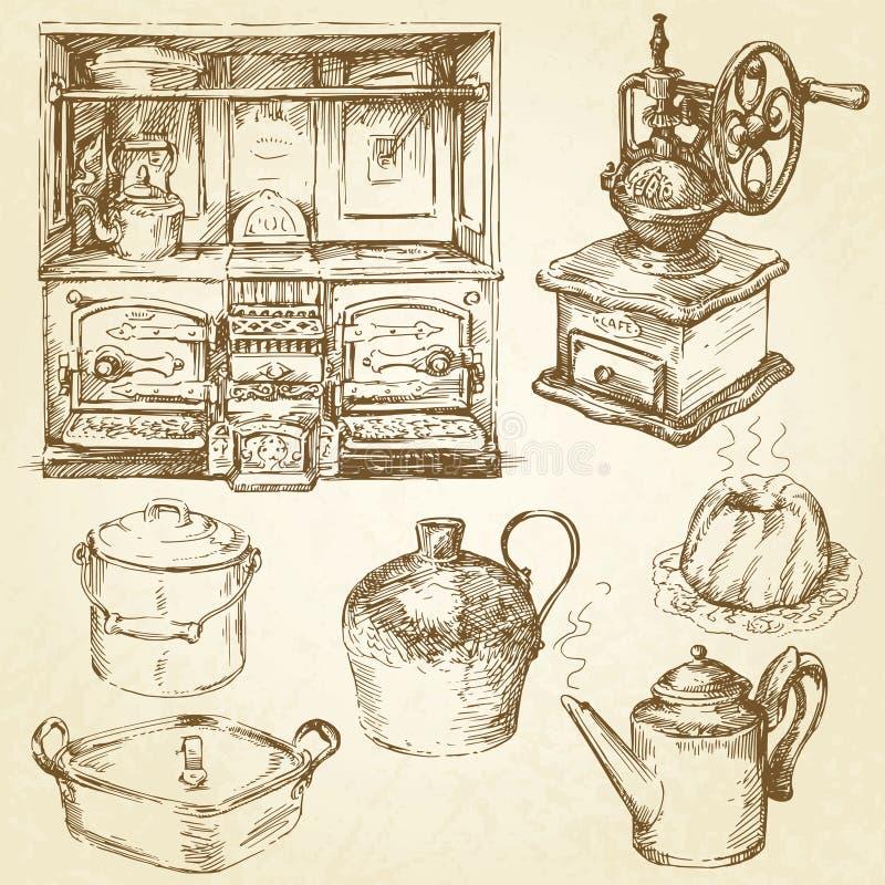 kitchenware ilustracji