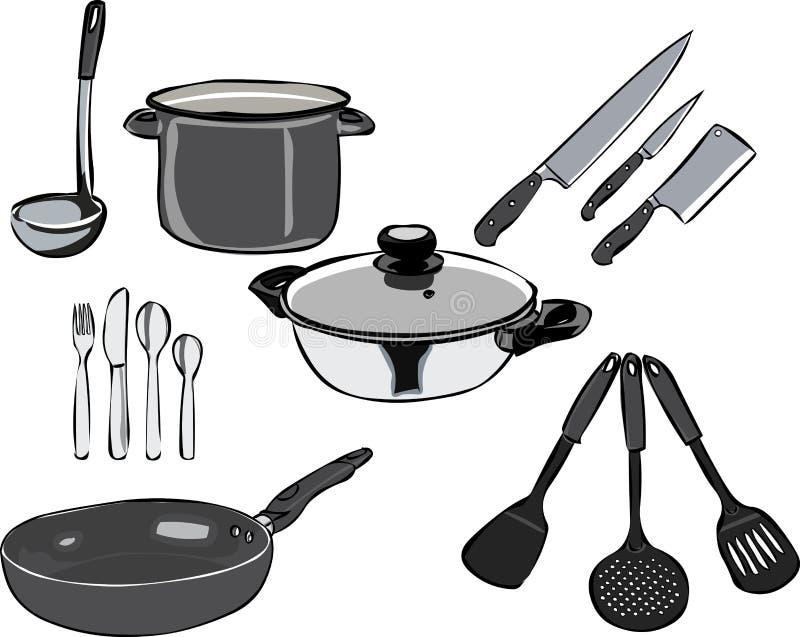 kitchenware ελεύθερη απεικόνιση δικαιώματος