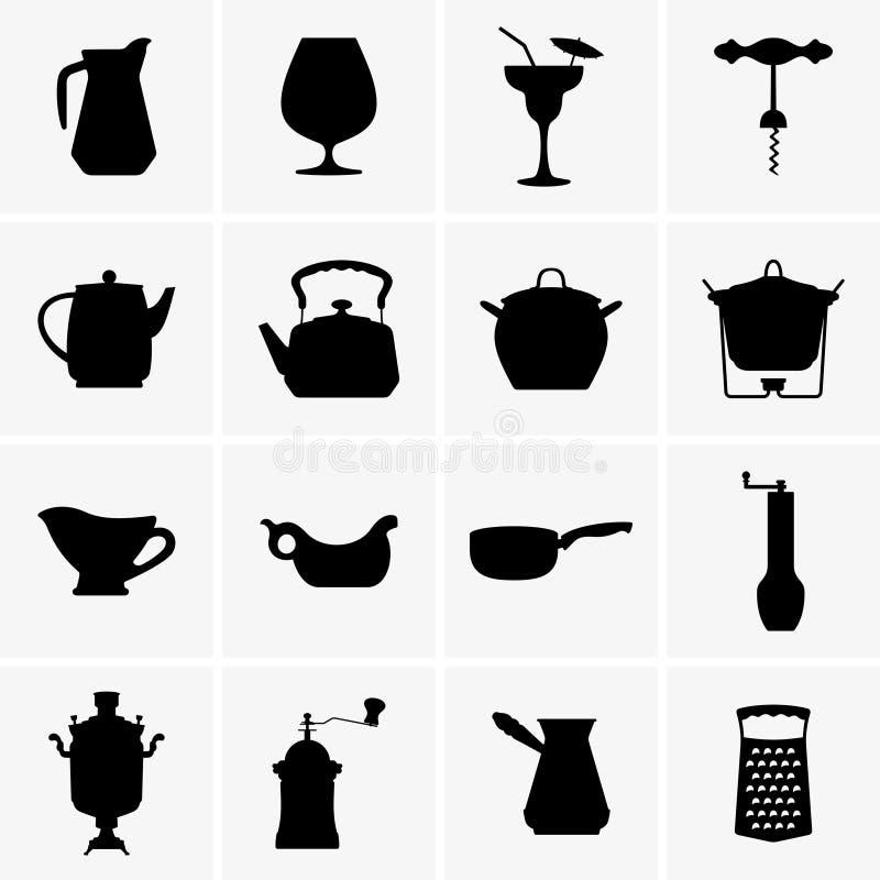 kitchenware απεικόνιση αποθεμάτων