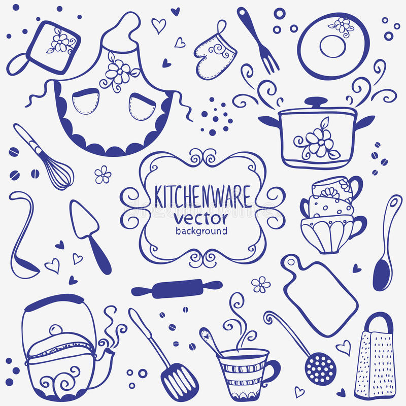 Kitchenware royalty free stock photos