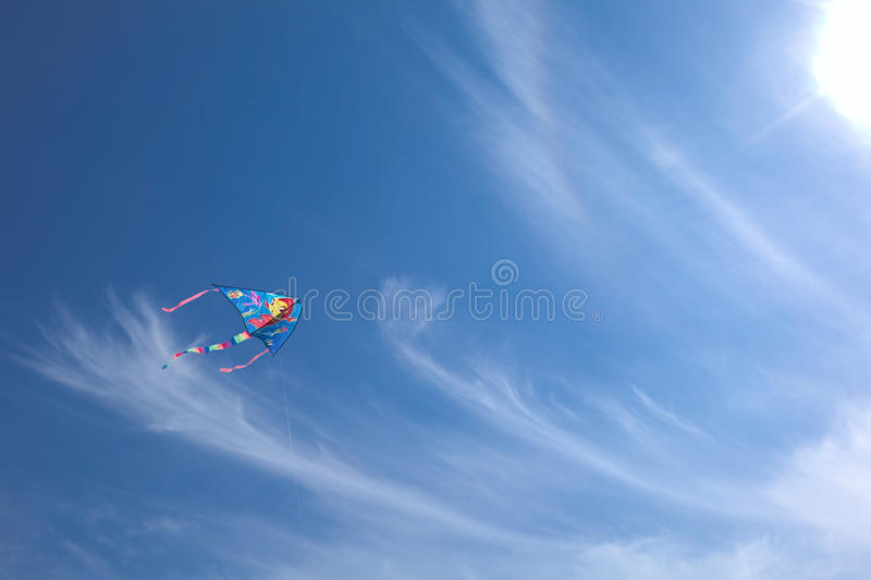 Download Kite stock photo. Image of overcast, environment, fluffy - 14375352