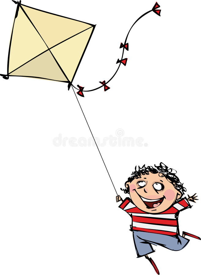 Download Kite stock illustration. Image of cutout, illustration - 19171392