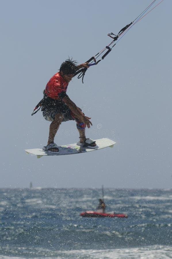 Free Kite 2011, Spain Championship. Stock Photo - 20712680