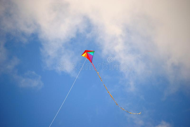 Download Kite stock image. Image of clouds, playing, vacation - 21526287