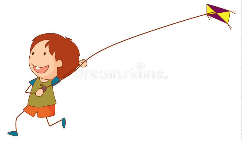 Kite stock illustration