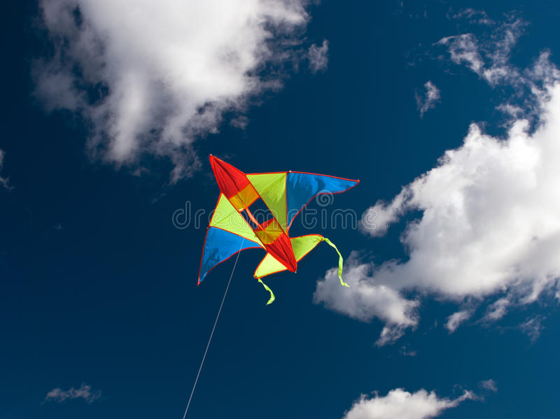 Download Kite stock photo. Image of image, moving, pursuit, blue - 26611472