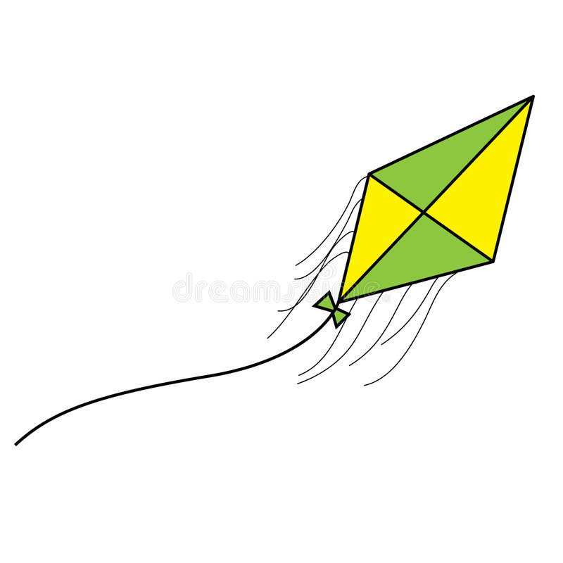 Download Kite stock vector. Illustration of kite, illustration - 6034178