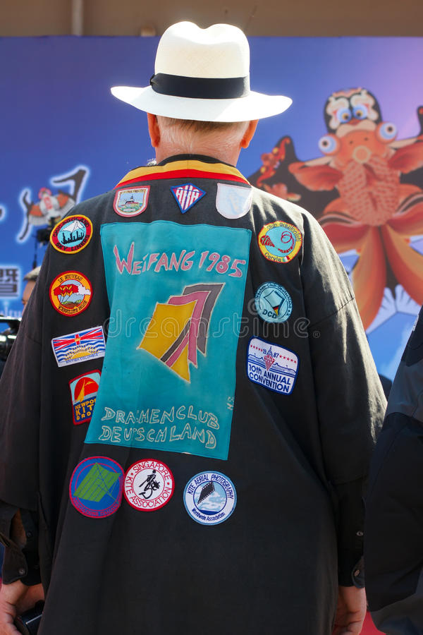 Download Kite Association Cloth editorial stock image. Image of logos - 30615554