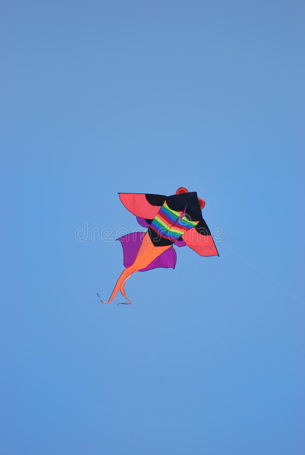 Download Kite In The Blue Sky Stock Images - Image: 25289684