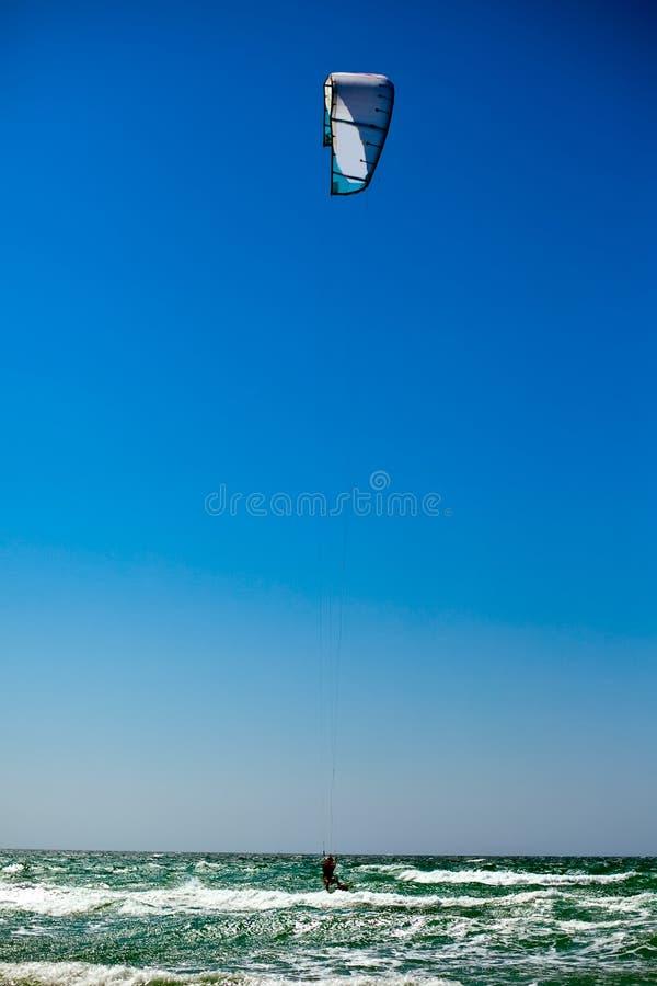 Kite Boarding stock photos