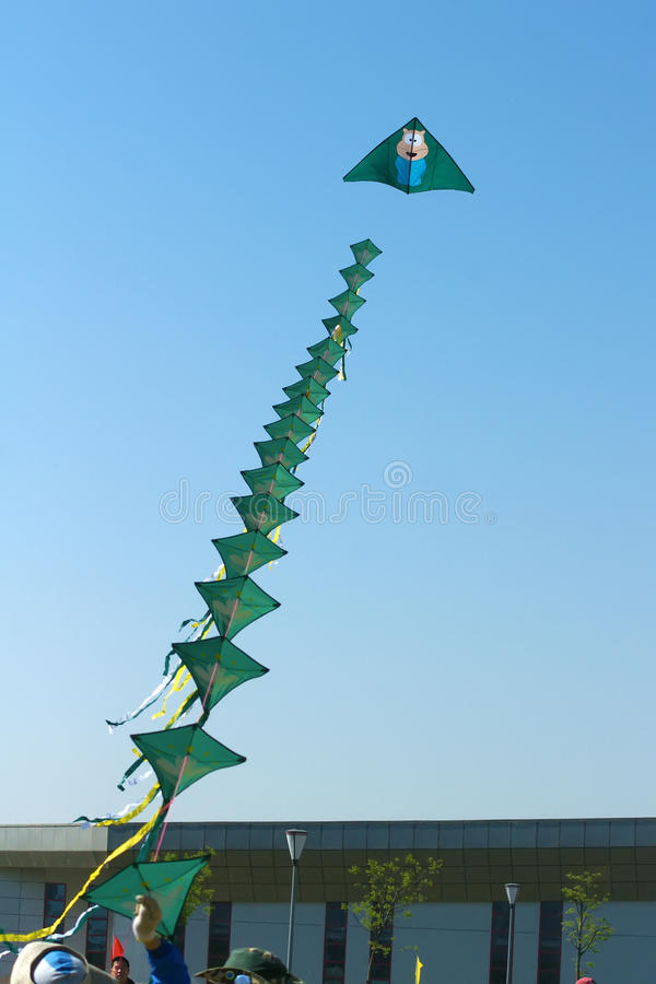 Kite Competition stock image