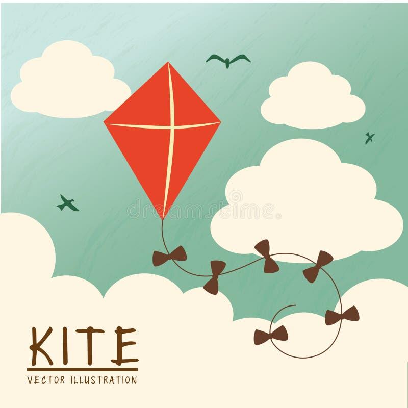 Kite stock illustration