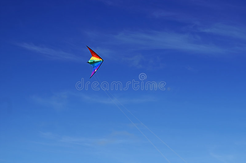 A Kite Flying stock images