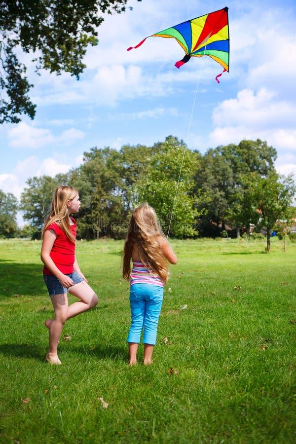 Kite Flying Royalty Free Stock Photos