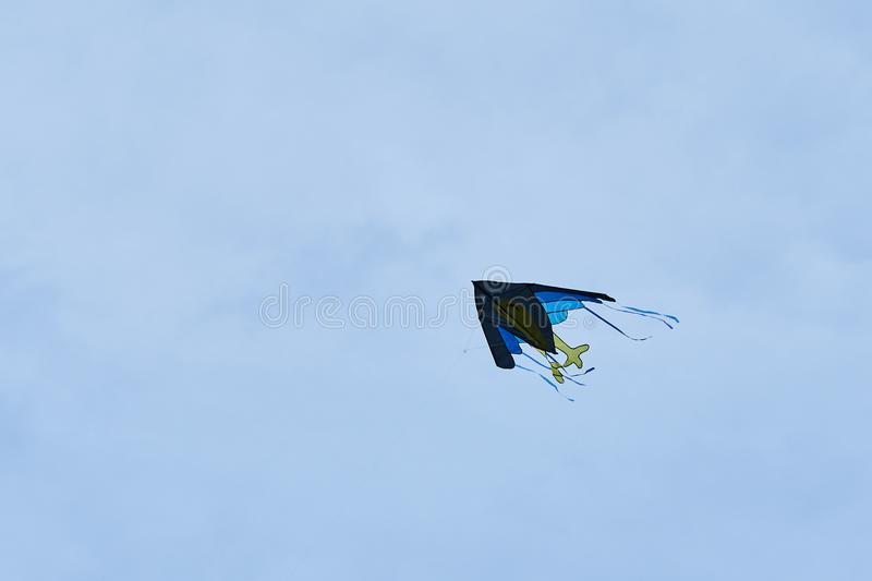 Kite flying in the sky. For any purpose royalty free stock photos