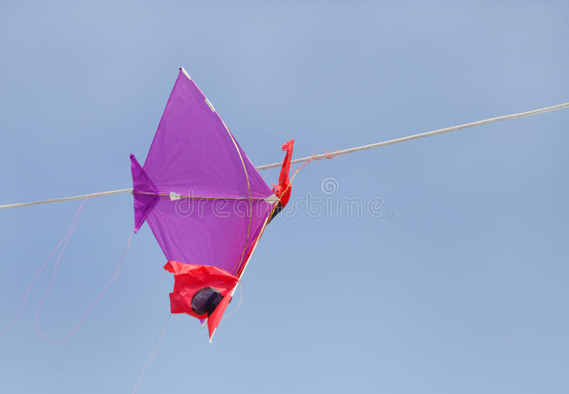 Download A kite hanging from a wire stock photo. Image of flying - 31860598
