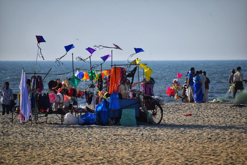 The kite royalty free stock photos